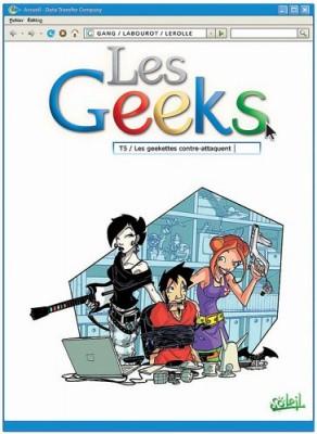 "Afficher ""Les geeks n° 5Les geekettes contre-attaquent"""