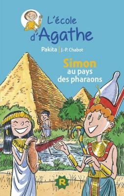 """Afficher """"L'école d'Agathe n° 14 Simon au pays des pharaons"""""""
