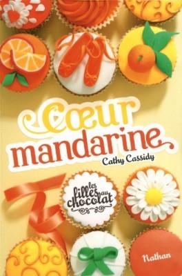 vignette de 'Les filles au chocolat n° 3<br /> Coeur mandarine (Cathy Cassidy)'