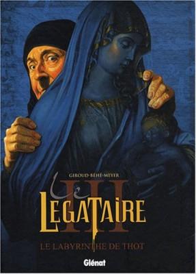 """Afficher """"Le légataire n° 3 Le labyrinthe de Thot"""""""