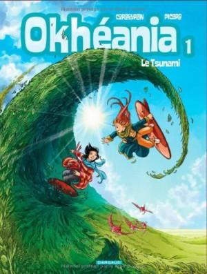 vignette de 'Okhéania n° 1<br /> Le tsunami (Picard)'
