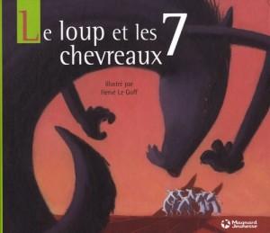"""Afficher """"Le loup et les 7 chevreaux"""""""