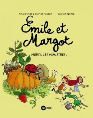 "Afficher ""Emile et Margot n° 4 Merci, les monstres !"""