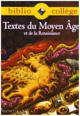 """Afficher """"Textes du Moyen âge et de la Renaissance"""""""