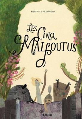 vignette de 'Les cinq mal foutus (Beatrice Alemagna)'