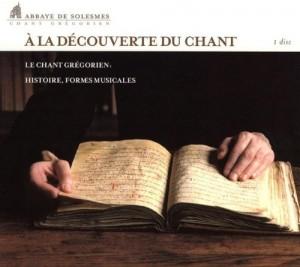 """Afficher """"A la découverte du chant grégorien"""""""