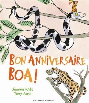 """Afficher """"Bon anniversaire Boa !"""""""