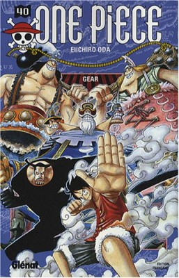 """Afficher """"One piece n° 40 One Piece. 40, Gear"""""""