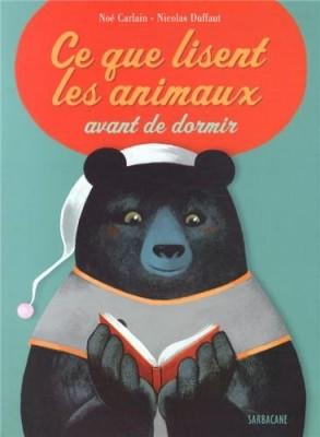 """Afficher """"Ce que lisent les animaux avant de dormir"""""""