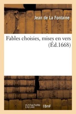 """Afficher """"Fables choisies, mises en vers"""""""