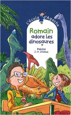 """Afficher """"L'Ecole d'Agathe n° 53 Romain adore les dinosaures"""""""