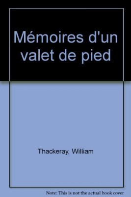 vignette de 'Mémoires d'un valet de pied (William Makepeace Thackeray)'