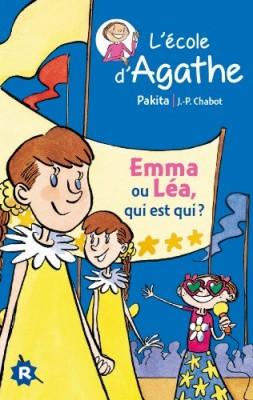 """Afficher """"L'école d'Agathe n° 17 Emma ou Léa, qui est qui ?"""""""