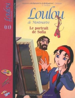 """Afficher """"Loulou de Montmartre n° 11 Le portrait de Sofia"""""""