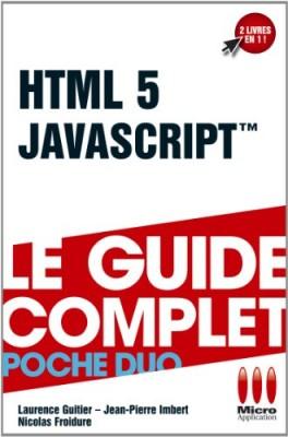 "Afficher ""HTML 5 et JavaScript"""