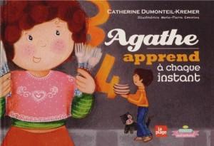 """Afficher """"Agathe apprend à chaque instant"""""""
