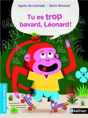 "Afficher ""Tu es trop bavard, Léonard"""