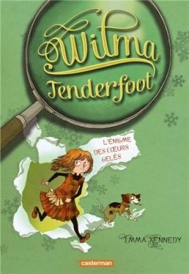 """Afficher """"Wilma Tenderfoot n° 1 L'énigme des coeurs gelés"""""""
