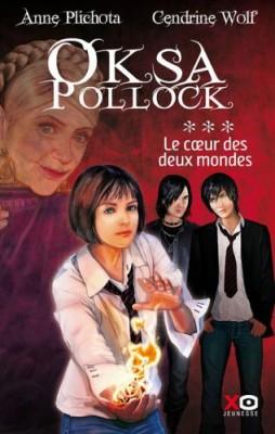 """Afficher """"Oksa Pollock n° 3 Le coeur des deux mondes"""""""