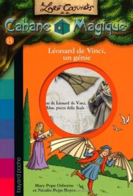 """Afficher """"Les carnets de la cabane magique n° 15Léonard de Vinci, un génie"""""""