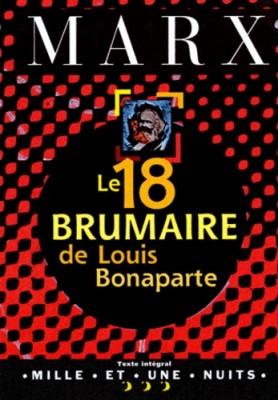 """Afficher """"Le 18 brumaire de Louis Bonaparte"""""""