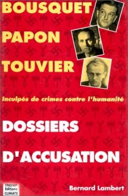 """Afficher """"Dossiers d'accusation"""""""