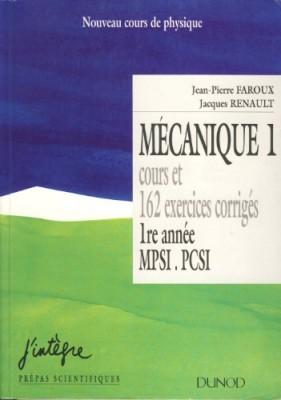 """Afficher """"Nouveau cours de physique. Mécanique 1"""""""