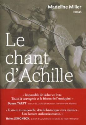 vignette de 'Le chant d'Achille (Madeline Miller)'