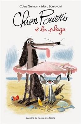 """Afficher """"Chien Pourri à la plage"""""""