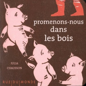 vignette de 'Les petits chaussons n° 1<br /> Promenons-nous dans les bois (Julia Chausson)'