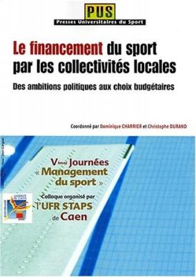"""Afficher """"Le financement du sport n° 2 Le financement du sport par les collectivités locales"""""""