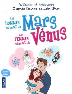 """Afficher """"Les hommes viennent de Mars, les femmes viennent de Vénus"""""""