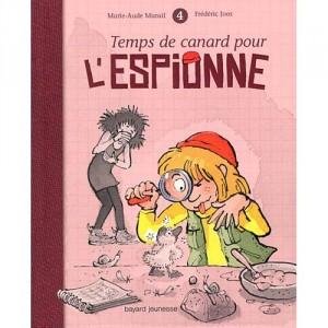 """Afficher """"Espionne (L') n° 4 Temps de canard pour l'espionne"""""""