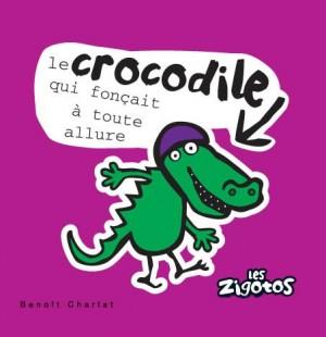 """Afficher """"Les zigotos n° 6Le crocodile qui fonçait à toute allure"""""""