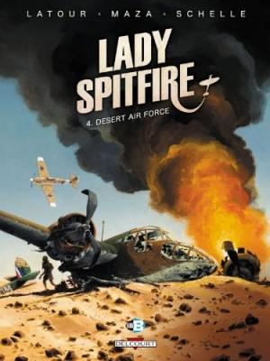 "Afficher ""Lady Spitfire n° 4 Desert air force"""