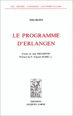 """Afficher """"Le programme d'Erlangen"""""""