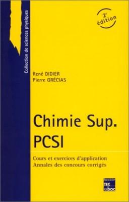 "Afficher ""Chimie Sup PCSI"""