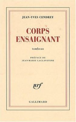 """Afficher """"Corps ensaignant"""""""
