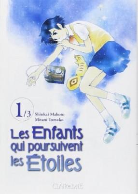 vignette de 'enfants qui poursuivent les étoiles (Les) n° 1<br /> enfants qui poursuivent les étoiles Tome 1 (Les) (Makoto Shinkai)'