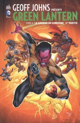 "Afficher ""Green Lantern n° 4 La guerre de Sinestro"""