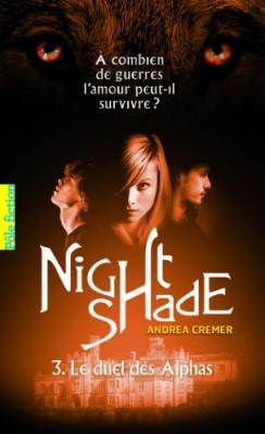 "Afficher ""Nightshade n° 3 Le duel des Alphas"""