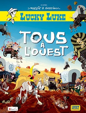 "Afficher ""Lucky Luke Tous à l'Ouest"""