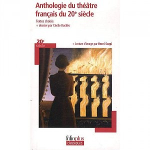 """Afficher """"Anthologie du théâtre français du 20e siècle"""""""