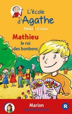 """Afficher """"L'école d'Agathe n° 20 Mathieu, le roi des bonbons"""""""