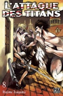 """Afficher """"L'attaque des titans n° 8"""""""