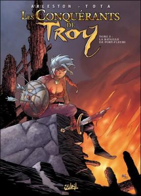 """Afficher """"Les conquérants de Troy n° 3 Les conquérants de Troy."""""""