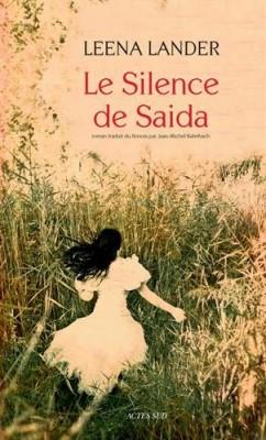 """Afficher """"Le Silence de Saida"""""""
