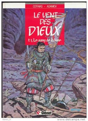 """Afficher """"le Vent des dieux n° 1 Le Sang de la lune"""""""