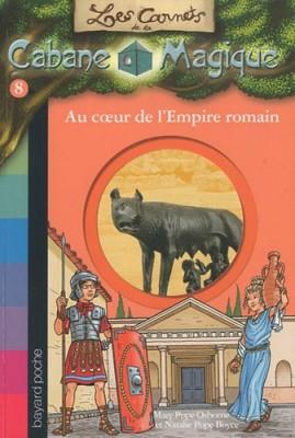 """Afficher """"Les carnets de la cabane magique n° 8Au coeur de l'Empire romain"""""""