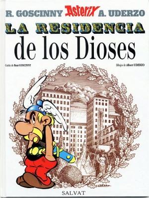 """Afficher """"Una aventura de Asterix n° 17 La Residencia de Los Dioses"""""""